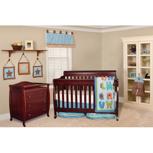 Harriet Bee Josefina 4-in-1 Convertible 2 Piece Crib Set