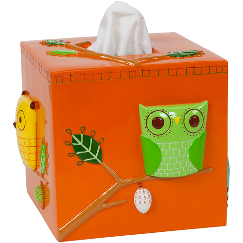 Creative Bath Give A Hoot Ceramic Boutique Tissue Holder