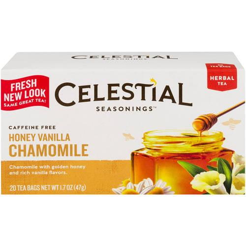 Celestial Seasonings Honey Vanilla Chamomile Herbal Tea, 20ct