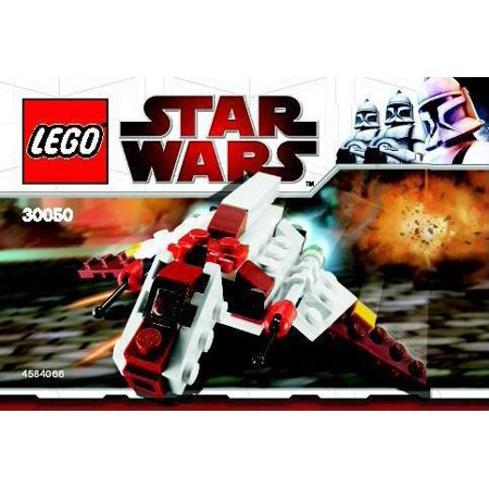 Star Wars The Clone Wars Republic Attack Shuttle Mini Set LEGO 30050 [Bagged] (Lego Mine Set)