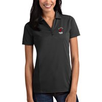 Miami Heat Antigua Women's Tribute Polo - Charcoal