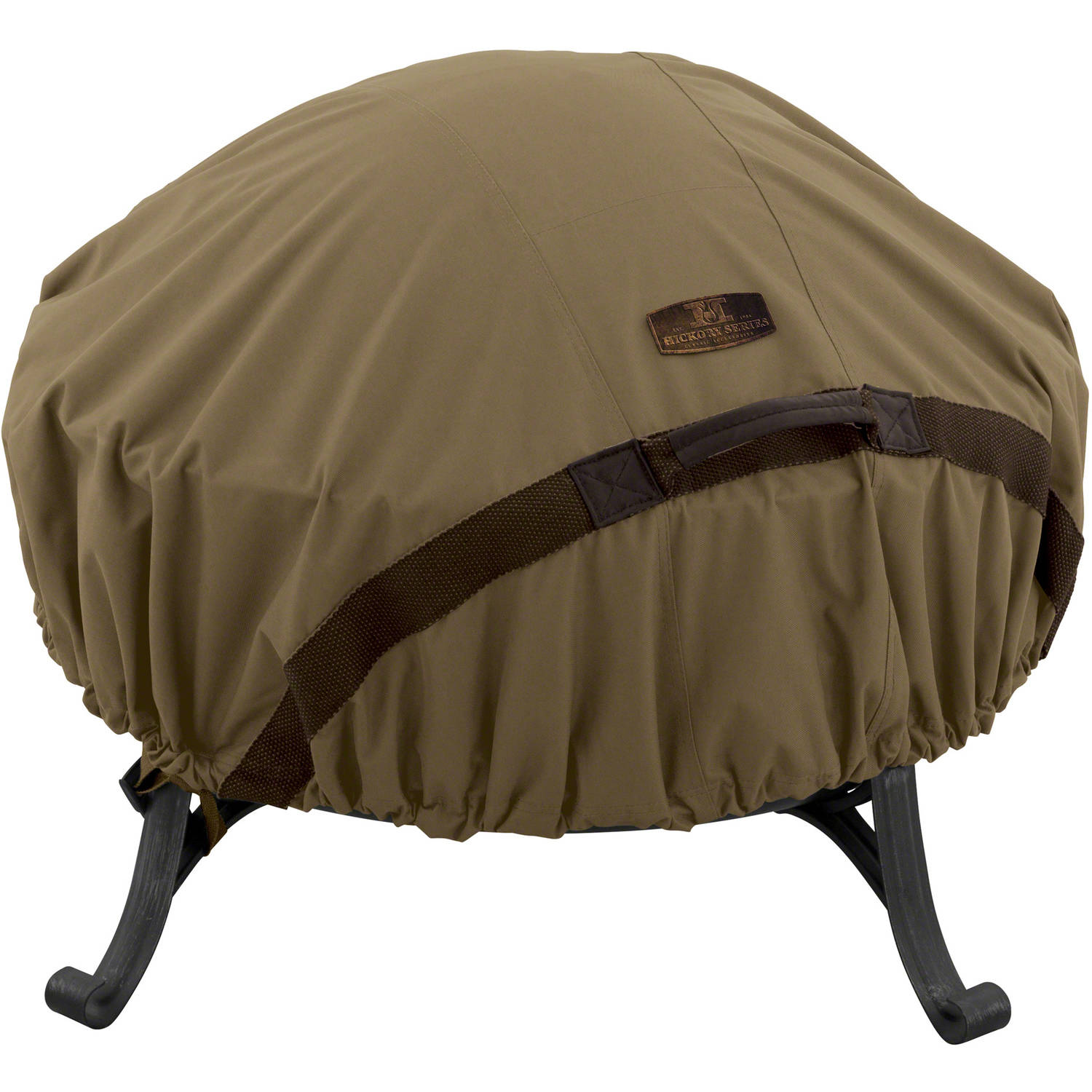 Classic Accessories Hickory Fire Pit Patio Storage Cover, Tan
