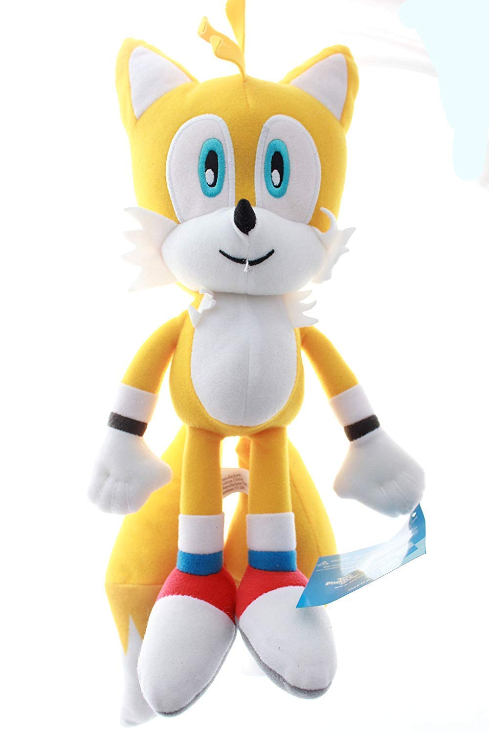 """Sonic the Hedgehog Plush  Tails 12/"""" Inches Authentic Stuff Toy"""