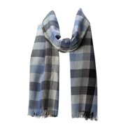 Amtal Women Pashmina Checkered Pattern Lightweight all season Oblong Scarf