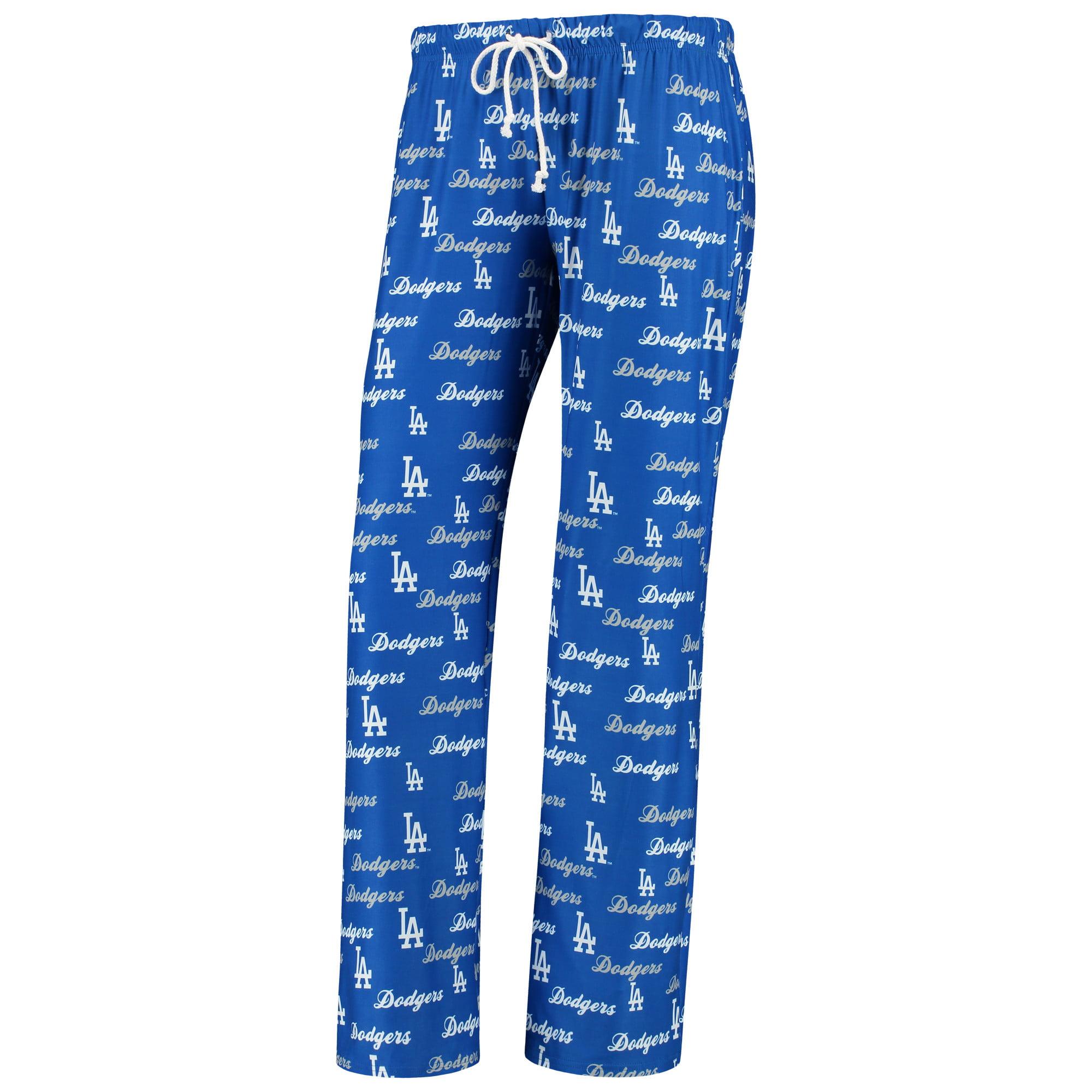 Los Angeles Dodgers Concepts Sport Women's Recover Pajama Pants - Royal