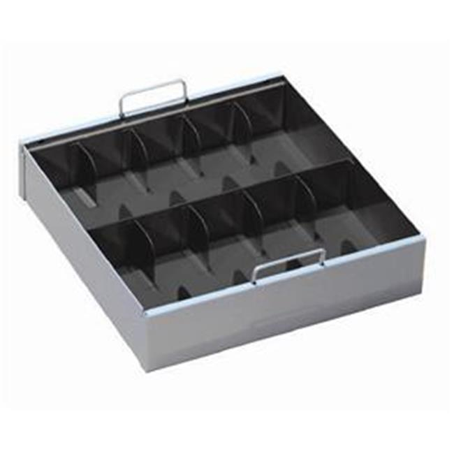 MMF 2251070C04 10-Comp Currency Tray With Cover - Black