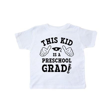 This Kid Preschool Grad Toddler T-Shirt - Kids Graduation