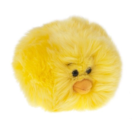 Yellow Colored Tumbleweed Chick Plush Toy - By Ganz