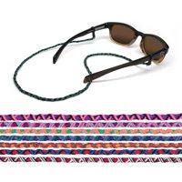 "Croakies World Cord Eyewear Retainer Mayan Guatemalan Spec Ends 24"" Multi-Color"