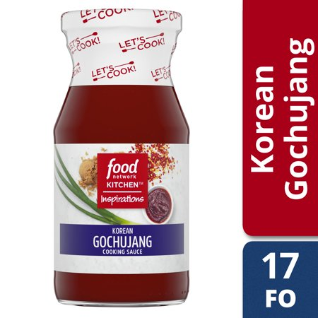 (2 Pack) Food Network Kitchen Inspirations Korean Gochujang Cooking Sauce, 15 oz - Food Network Giada At Home Halloween
