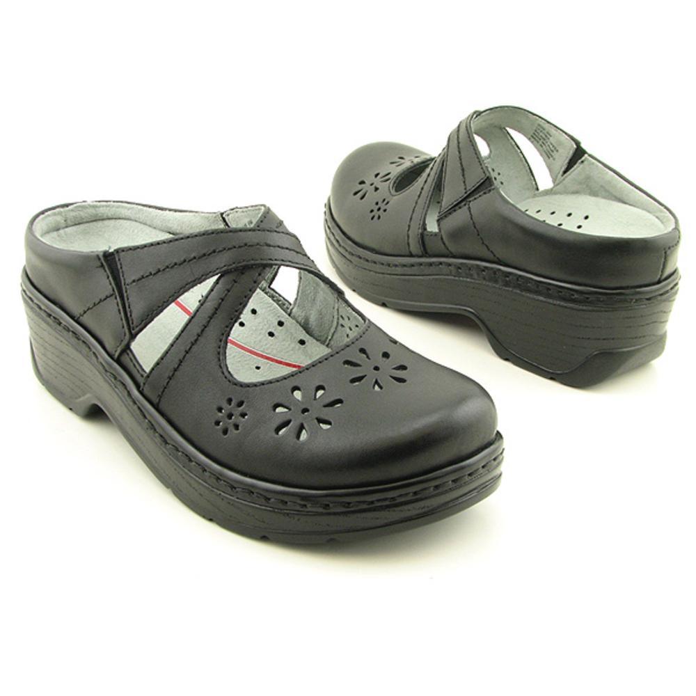 Klogs Carolina Women's Clogs Black Smooth by Klogs
