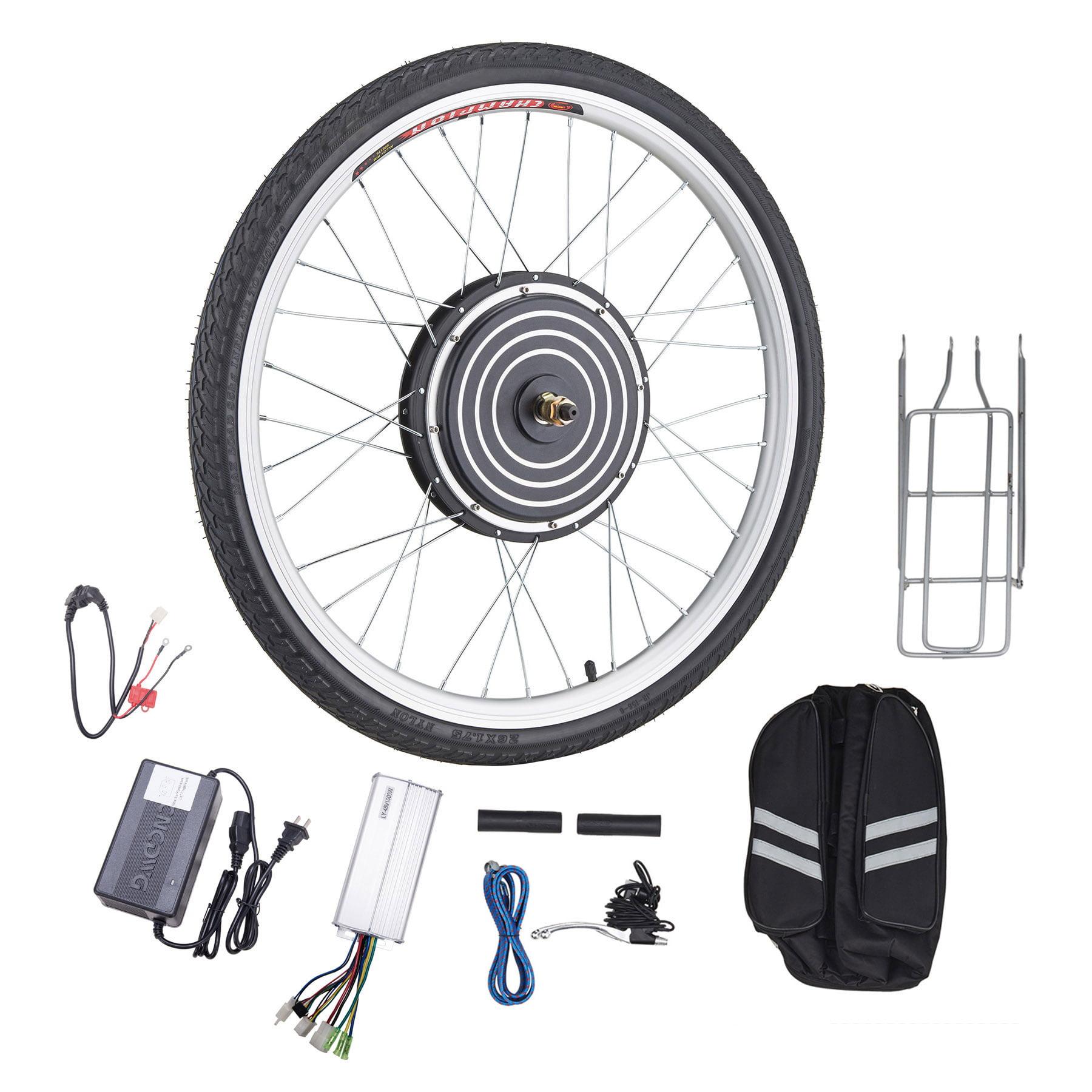 "NEW Electric Bicycle Hub Motor Bike Conversion Kit eBike Front 48V 1000W 26"""