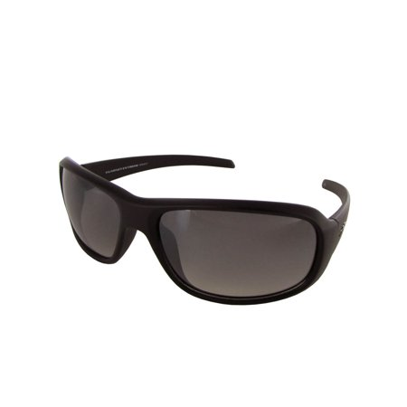Unisex VE5006 Rectangular Fashion Sunglasses, Matte Black