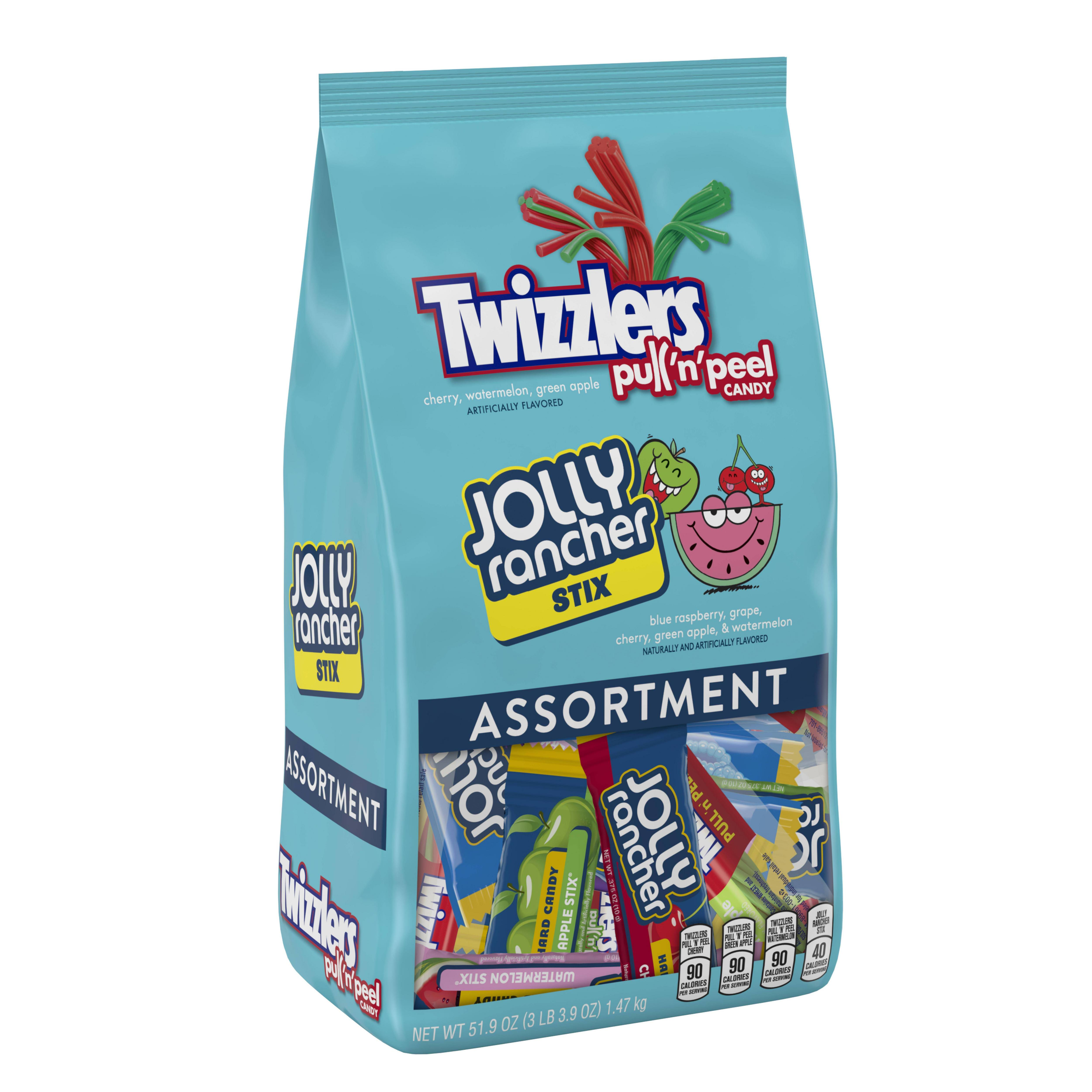 Hershey's, Jolly Rancher and Twizzlers Candy Assortment, 51.9 Oz