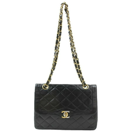 Chanel Quilted Two-Tone Logo Paris Edition Classic Flap 870214
