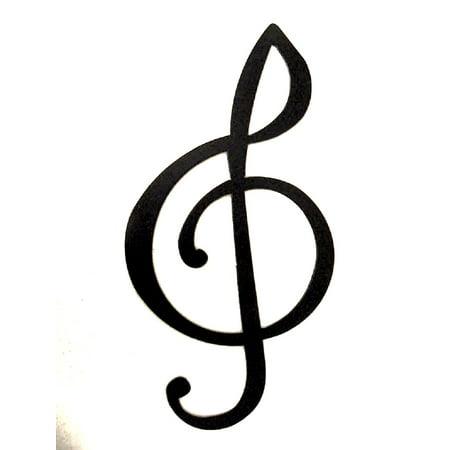 Treble Clef Music Note Metal Wall Art Decor Walmartcom