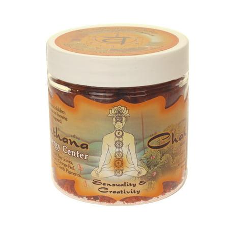 - Resin Incense Sacral Chakra Svadhishtana - Sensuality and Creativity - 2.4oz jar