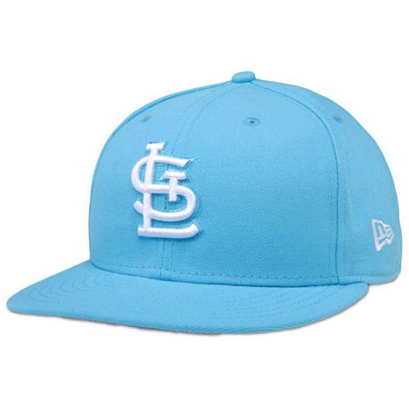 St. Louis Cardinals New Era Basic 59FIFTY Fitted Hat - Neon Blue - 7 1 2 -  Walmart.com 5f4a9558078