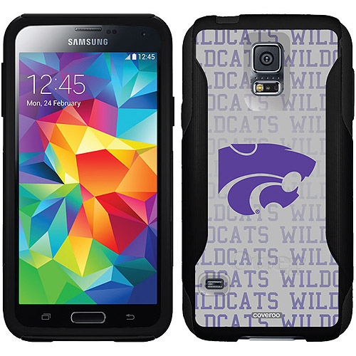 Kansas State Wildcats Repeating Design on OtterBox Commuter Series Case for Samsung Galaxy S5
