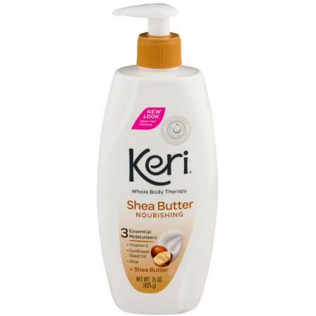 6 Pack - Keri Whole Body Therapy Nourishing Shea Butter Lotion 15 oz ()
