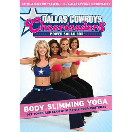 Dallas Cowboys Cheerleaders: Body Slimming Yoga (DVD)