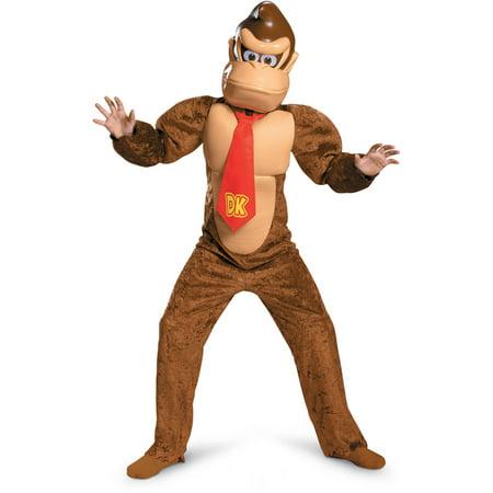 Super Mario Bros. Donkey Kong Deluxe Child Halloween Costume - Super Mario Kids Costume