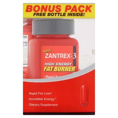 Zantrex-3 High Energy Fat Burner capsules Complément alimentaire, 36 nombre, (pack de 2)