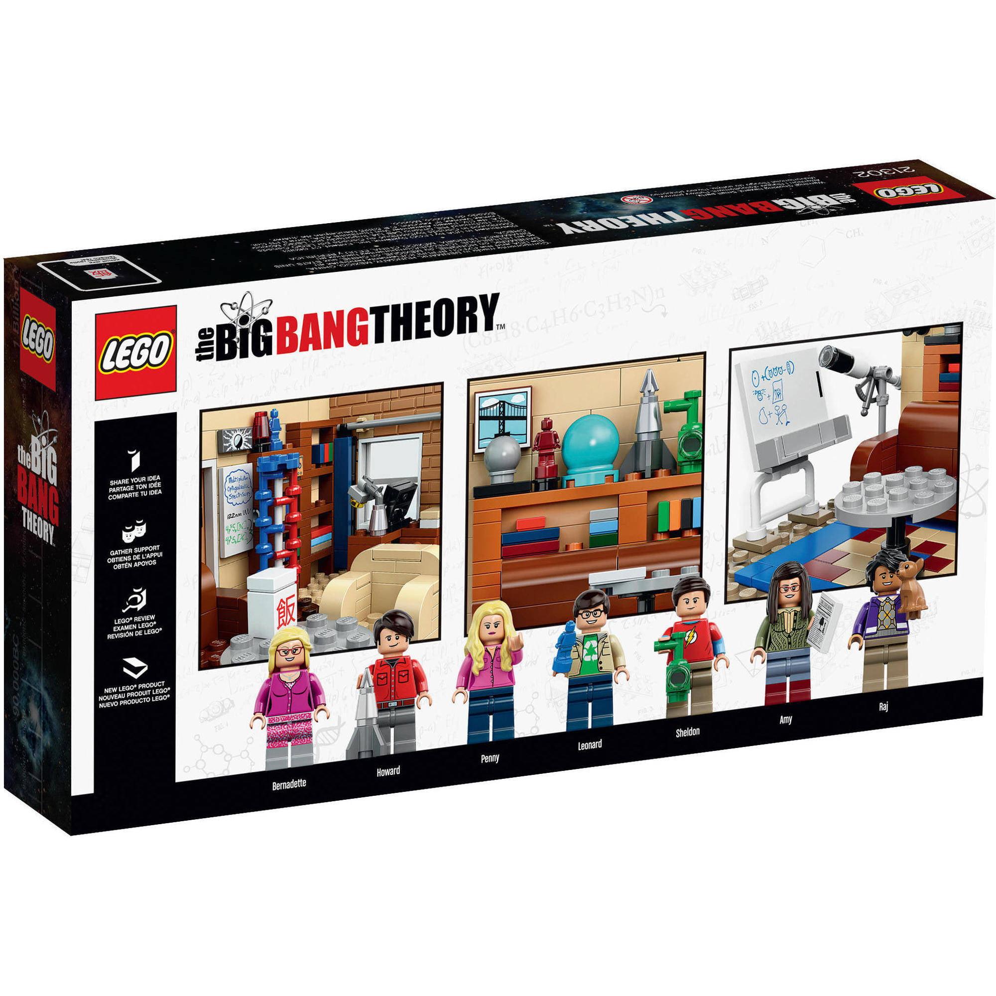 Lego Ideas The Big Bang Theory 21302 Walmart Com