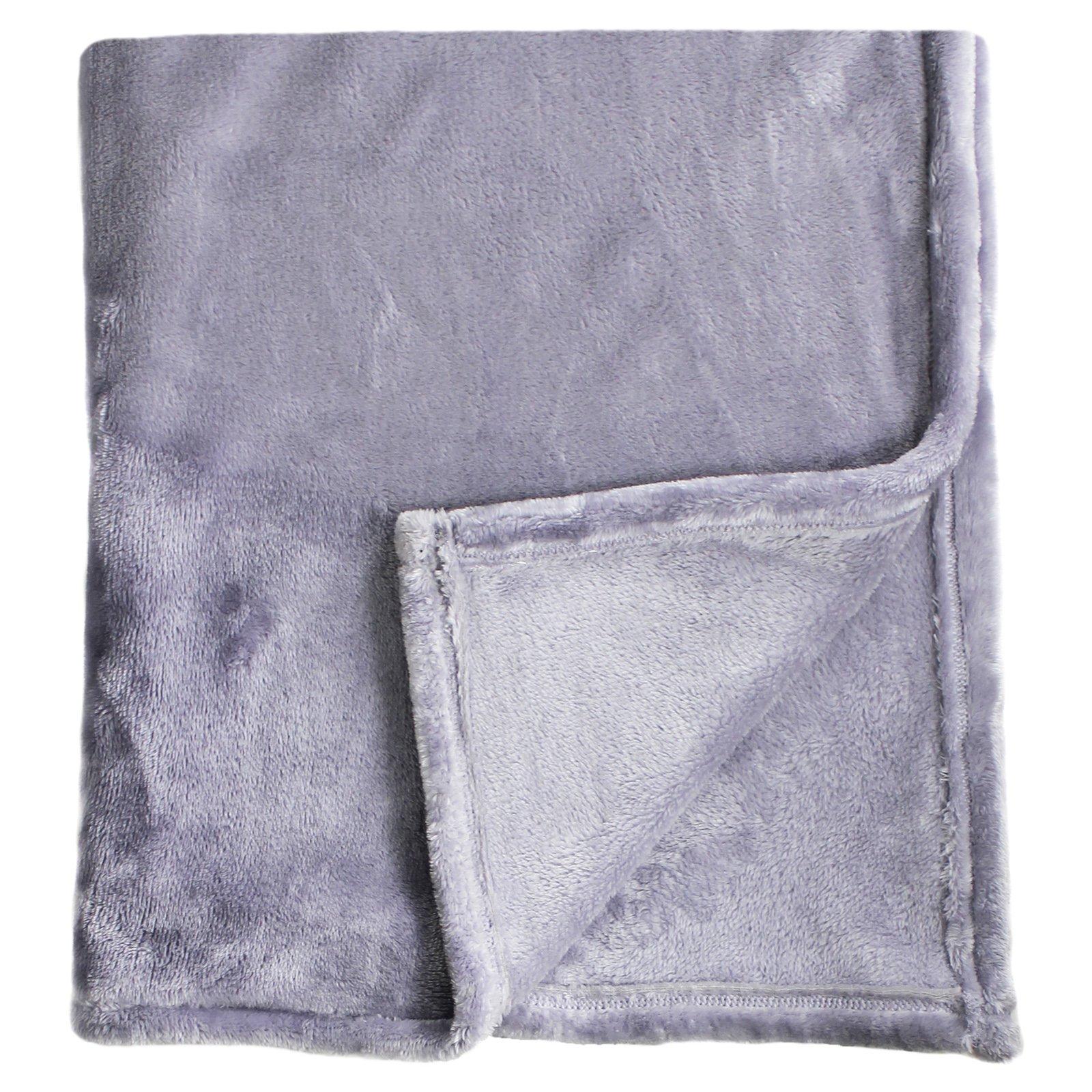 Bliss Velvet Fleece Blanket by Melange Home