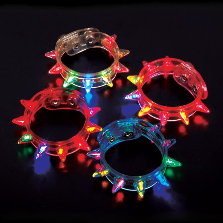 Lumistick LED Flashing Spike Bracelet