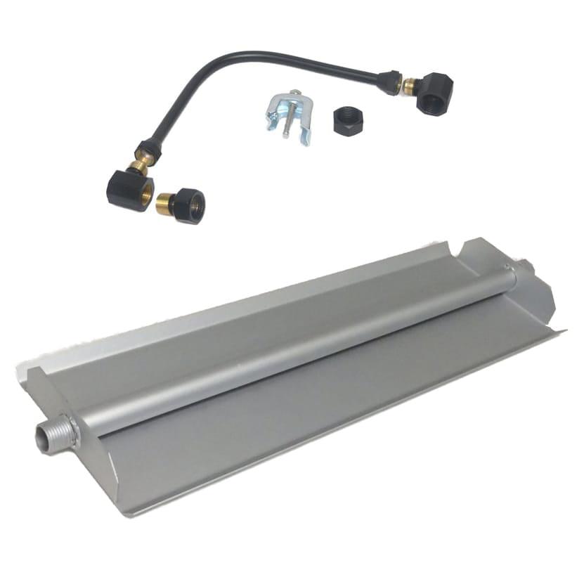 18 inch Powder Coated Linear Burner Pan Kit NG