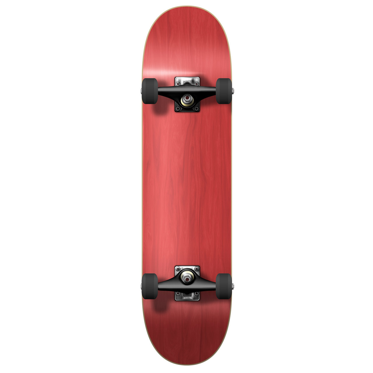 Yocaher Blank Complete Skateboard Stained Black by Yocaher