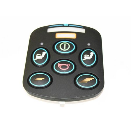 New Solutions P75735 VSI-A Large Front Keypad 6 Buttons Wheelchair