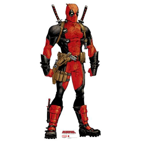 Deadpool Cardboard Standup  (Marvel) - Party Supplies