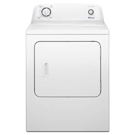 Amana NED4655EW 6.5 Cu. Ft. White Electric Dryer