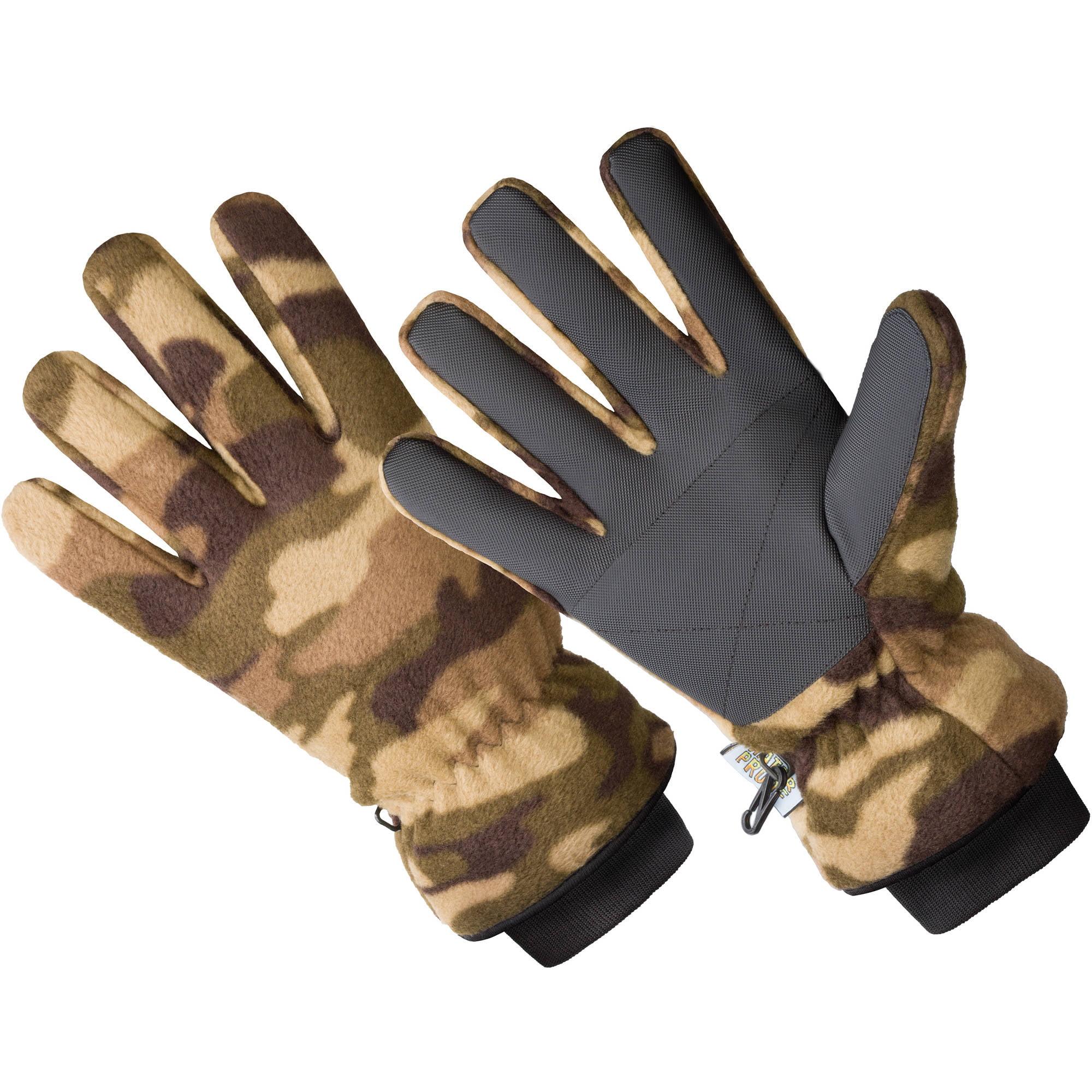 HANDS ON Micro Fleece Glove - 40 gm 3M Thinsulate Lined, 100% Waterproof