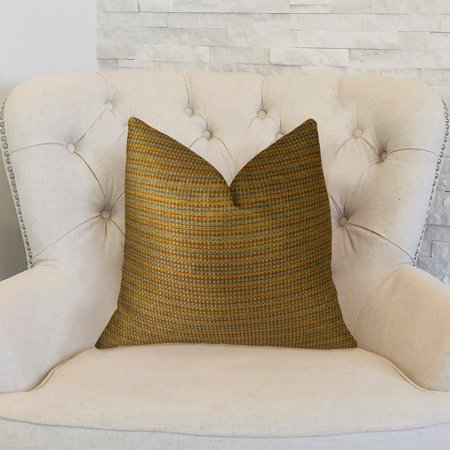 Plutus PBRAZ242-1220-DP Madison Copper & Brown Handmade Luxury Pillow, 12 x 20 in. - image 1 of 3