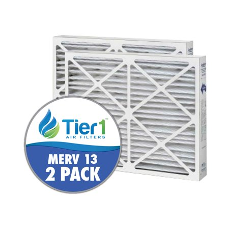 White Rodgers Furnace Filters - White Rodgers 20x25x6 Merv 13 Replacement AC Furnace Air Filter (2 Pack)