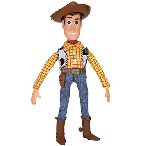 """Toy Story 3 Pull String WOODY Doll 16"""" TALKING FIGURE - Disney Exclusive"""