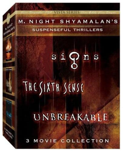 M. Night Shyamalans Suspenseful Thrillers: 3 Movie Collection by DISNEY/BUENA VISTA HOME VIDEO