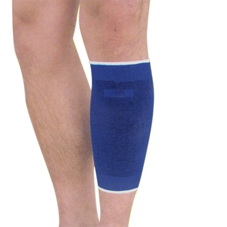 Unique Bargains 2pcs Elastic Pullover Shin Calf Sleeve Support for Running