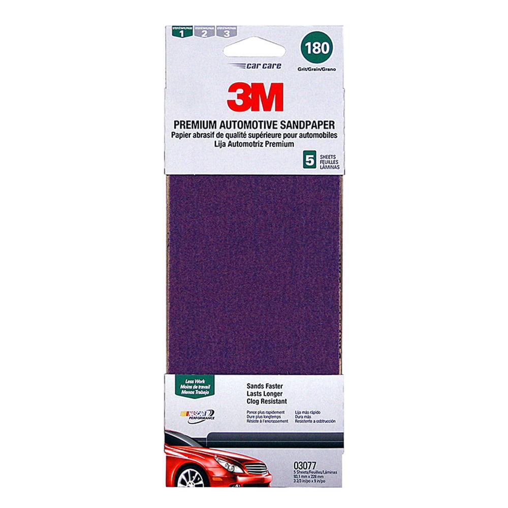 3M 180-Grit Premium Automotive Sandpaper by 3M
