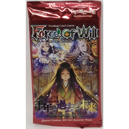 Force Booster Pack - Force of Will The Millennia of Ages Booster Pack Sealed