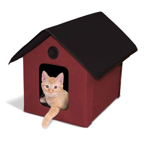 K H Manufacturing Unheated Outdoor Cat House Walmart Com