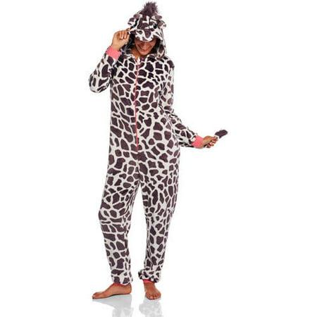 Women s Assorted Character Sleepwear Adult One Piece Costume Union Suit  Pajama (Sizes XS-3X) - Walmart.com 969340245