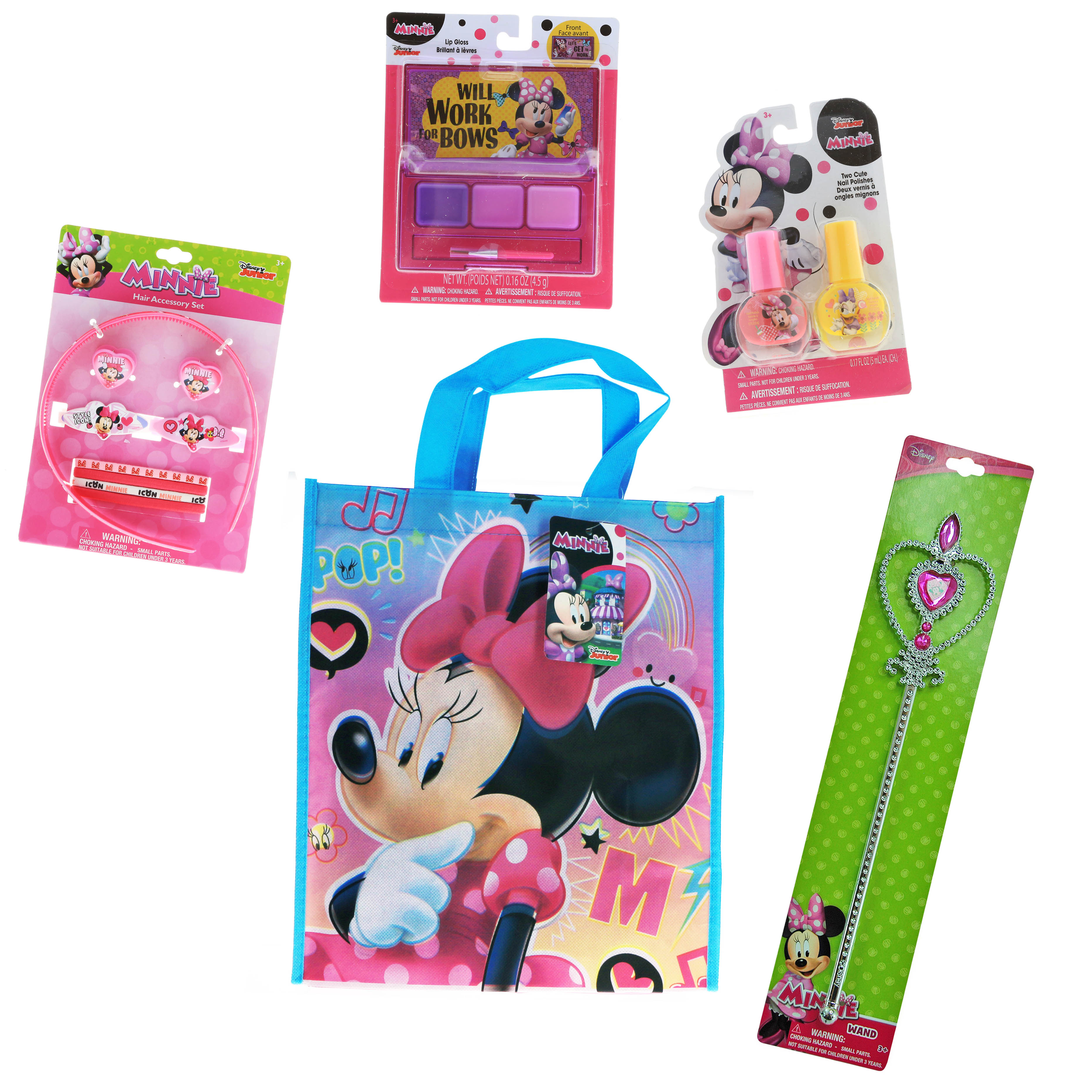 Disney Minnie Mouse Girls Holiday Gift Set Pretend Play Toys (2 Styles)