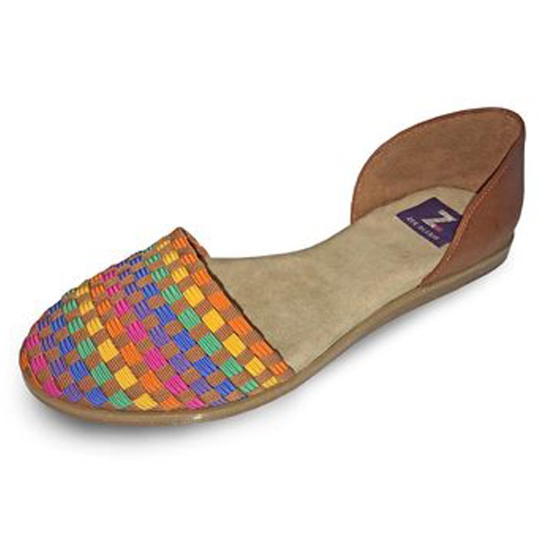 Zee Alexis Womens Gordie Shoes Rainbow 7.5 M