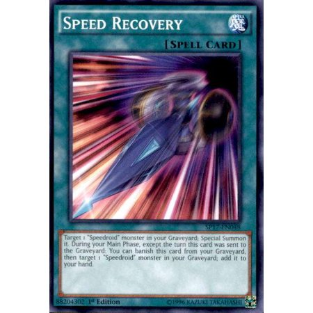 YuGiOh Star Pack Battle Royal Speed Recovery SP17-EN048