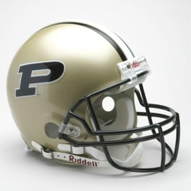 Purdue Boilermakers Riddell Full Size Authentic Helmet