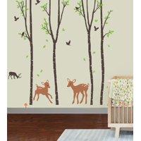 Tranquil Woodland Wall Decal Sticker - 17x30